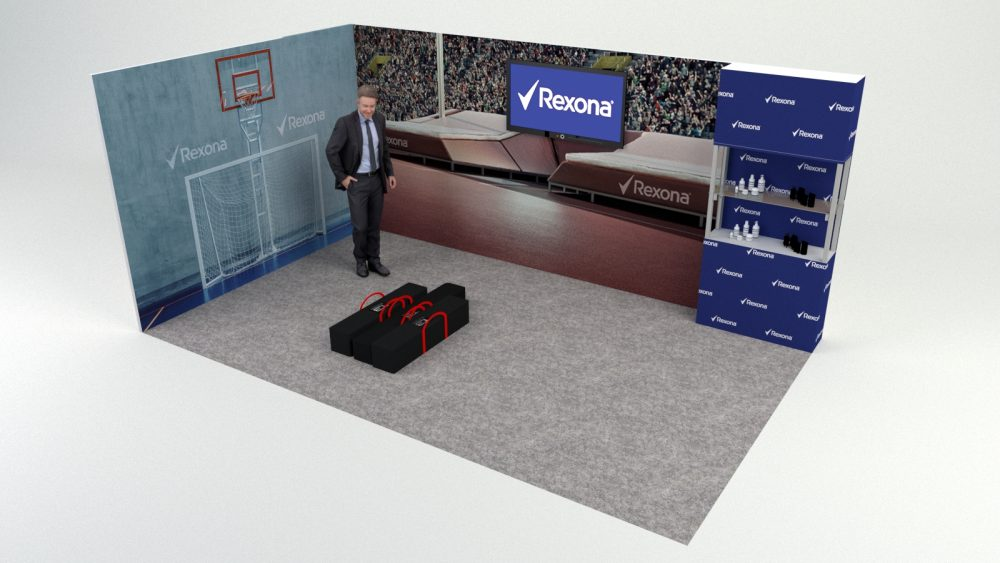 Kiállítási stand - T3 - 5x3m - Displayház